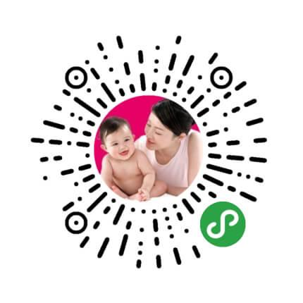 微信母婴用品小程序模板二维码