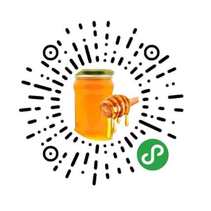 微信纯天然蜂蜜小程序模板二维码
