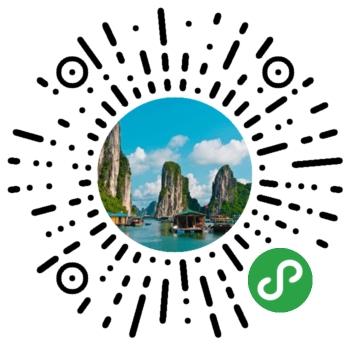 微信海峡旅游小程序模板二维码